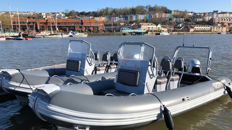 safety-boat-rhib-in-harbor